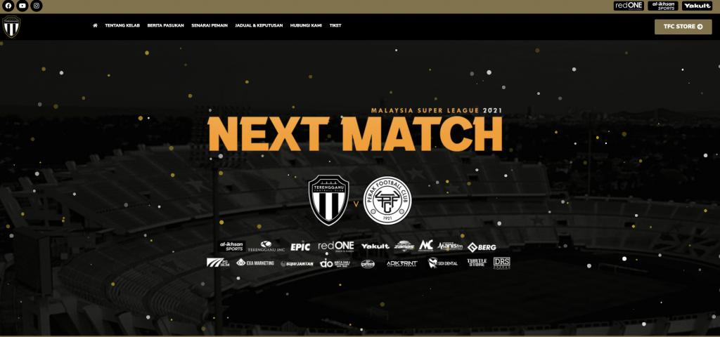 Terengganufc website